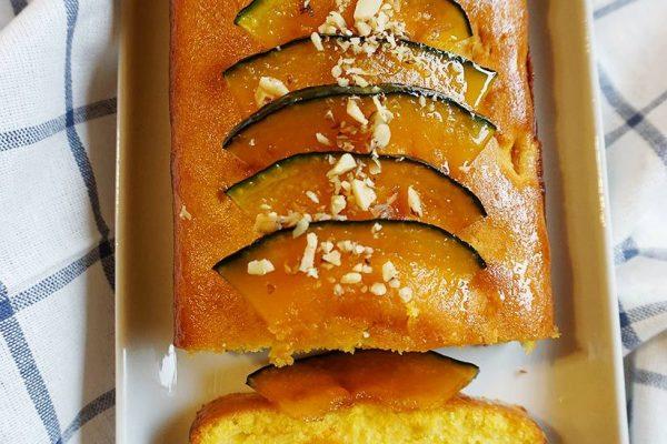 Steamed Pumpkin Cake