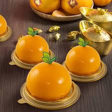 Chinese New Year Orange Cake