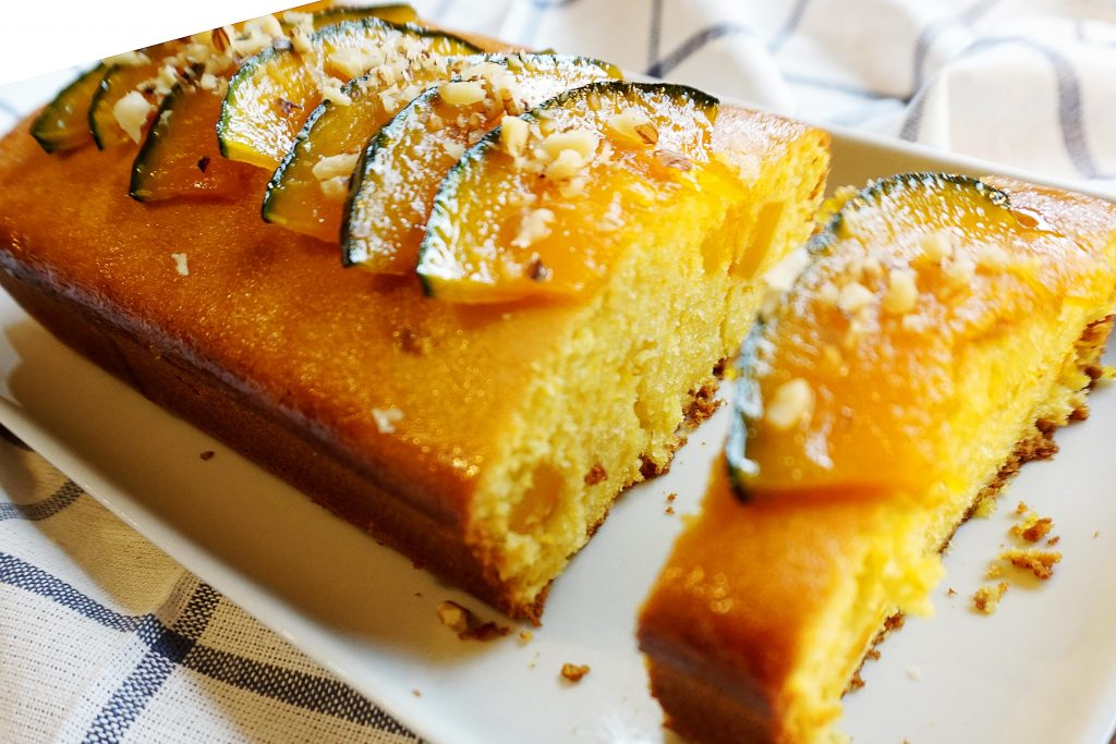 Steamed Pumpkin Cake