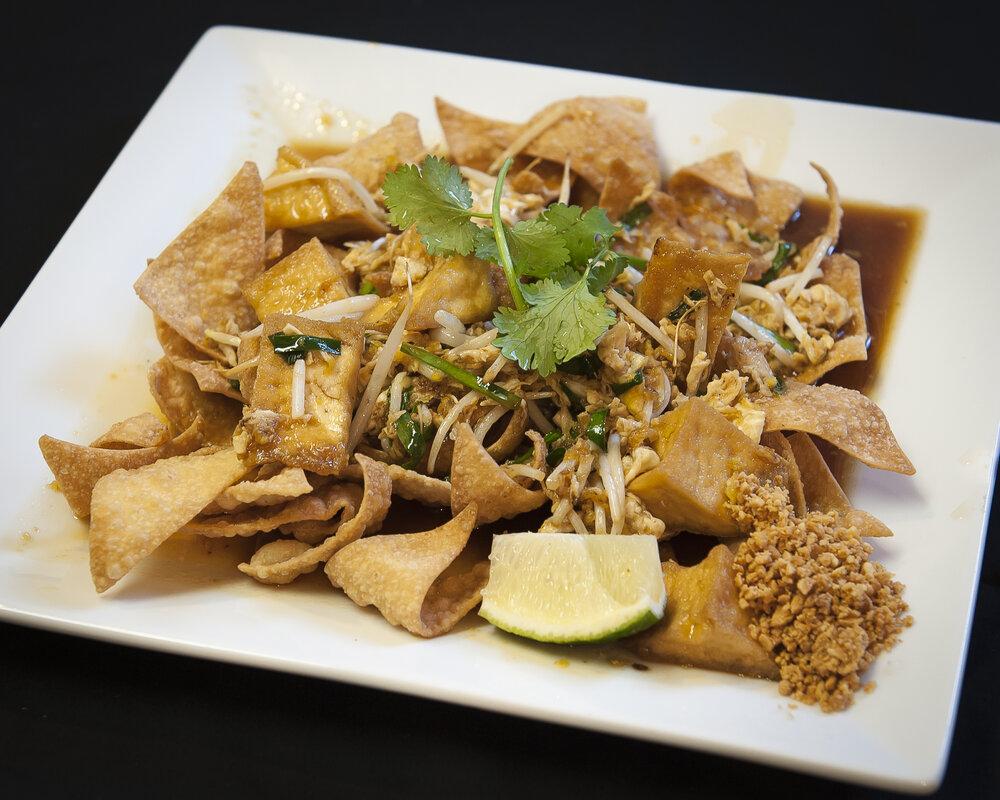 Pad Thai Crispy Wonton