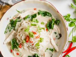 Coconut milk noodles