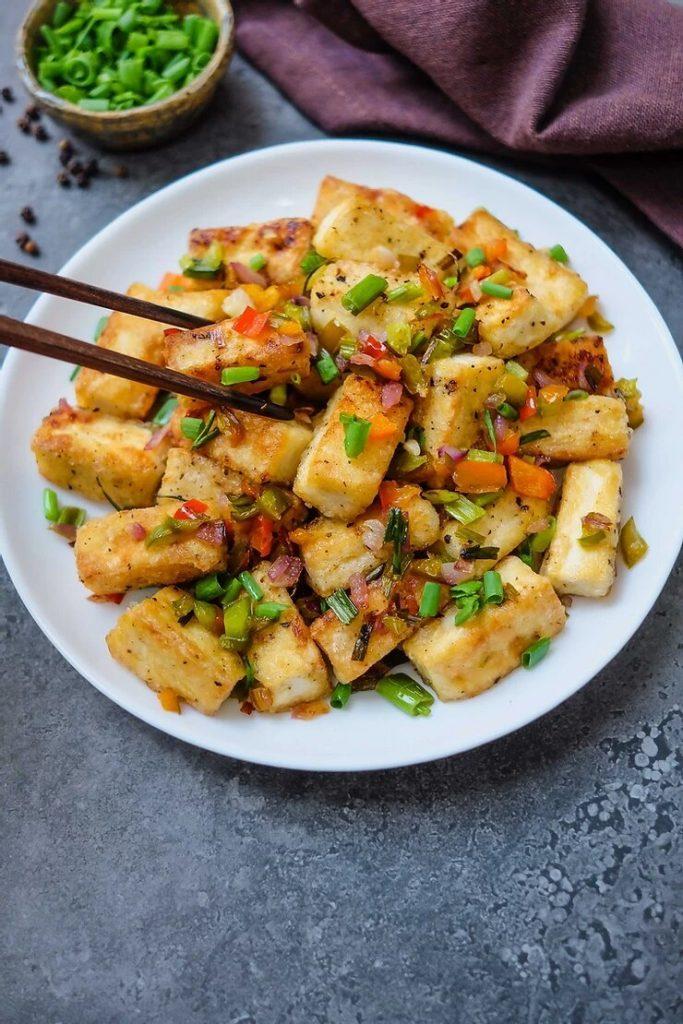 Tofu Chili Salt