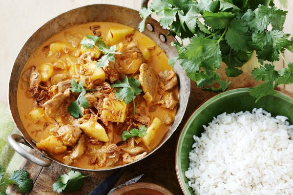 Curry Pork with Pineapple