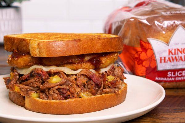 Lets try menu Hawaiian Sandwich Bread.